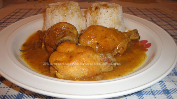 Pollo al curry a nuestro estilo0 (0)