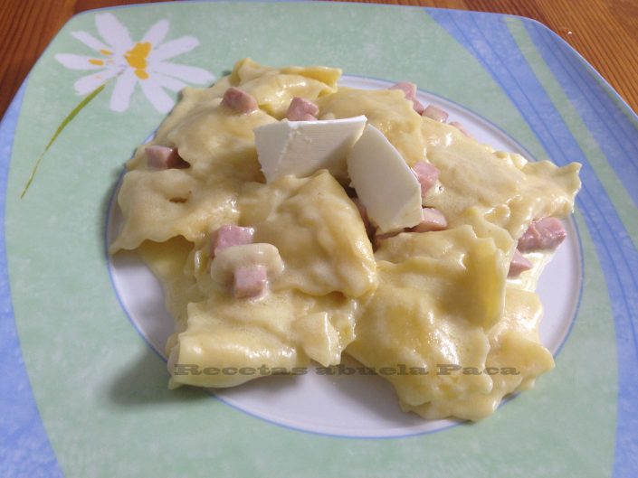 Raviolis con queso fresco0 (0)