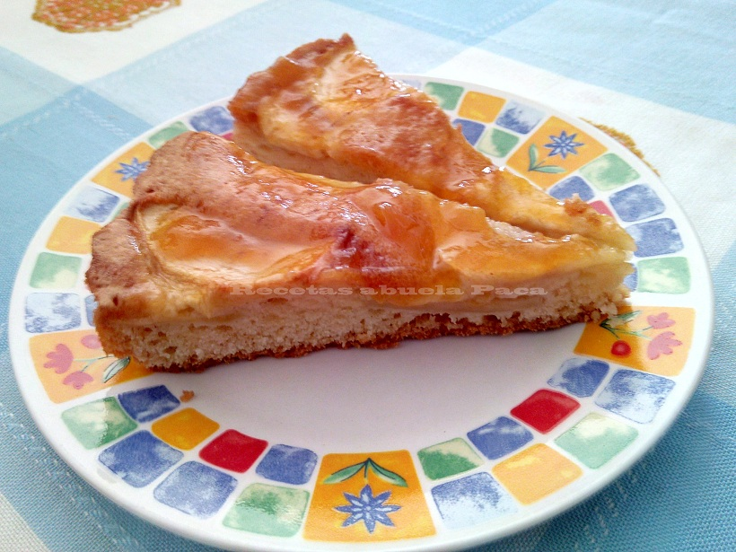Tarta de manzana ofrecida por Anita Gutiérrez