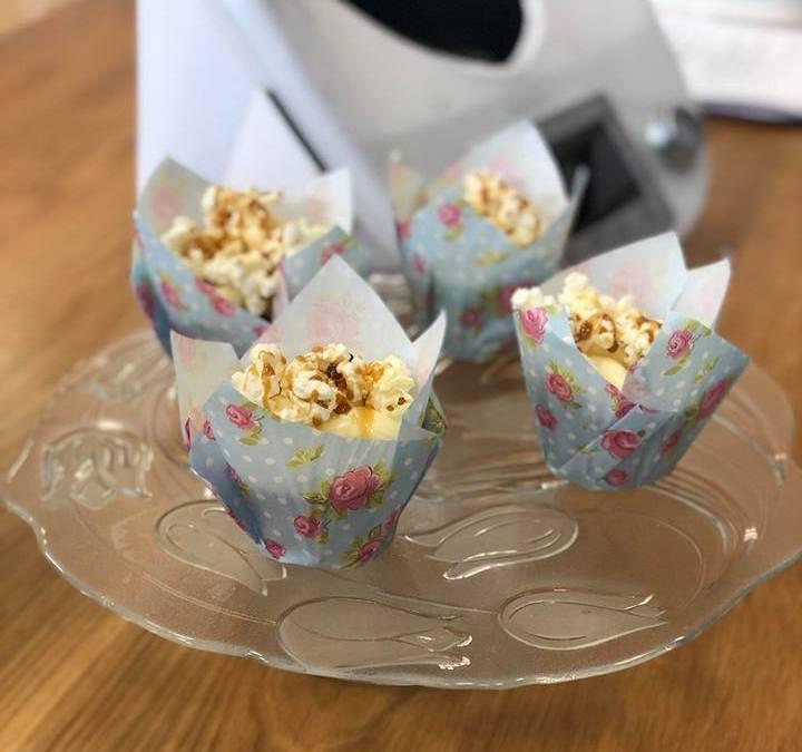 Cupcakes con palomitas y toffee salado en TM50 (0)