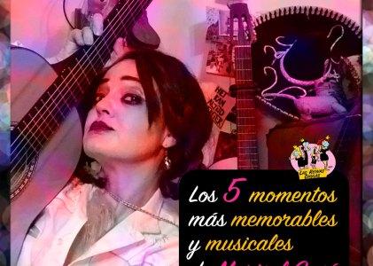 Los 5 momentos más musicales de Marisol Gasé