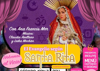 El Evangelio Según Santa Rita en El Vicio