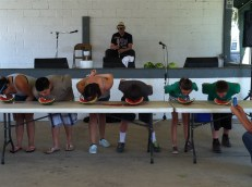 Watermelon Eating Contest Fair 2013 016