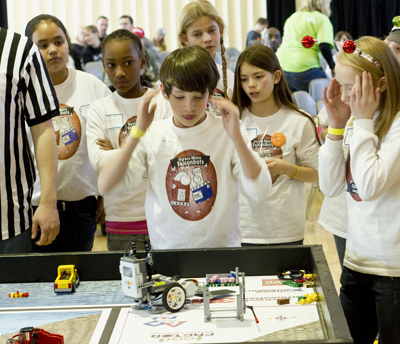 Lassonde hosts the first LEGO League to instill innovation in youth.
