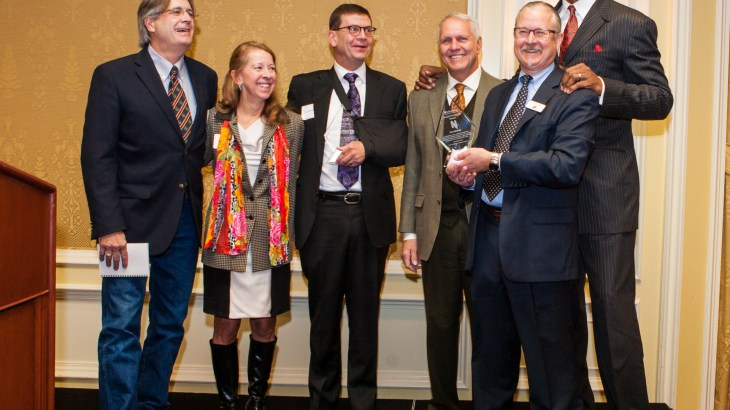 University of Utah faculty and staff win award for autism project.