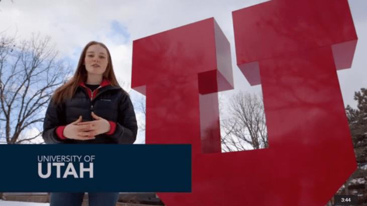 Lassonde featured on national television. University of Utah.