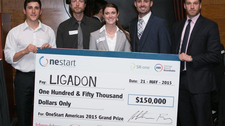 "U alumni startup, ""Ligadon,"" wins money at OneStart."
