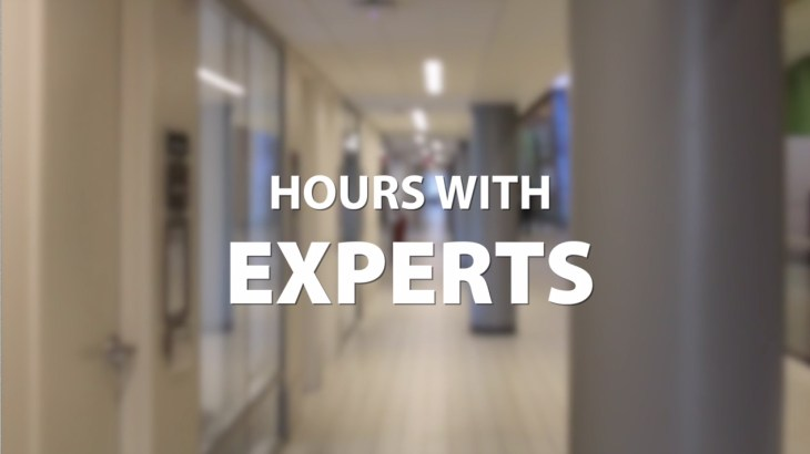 Hours with experts gives U students access to time with industry professionals.