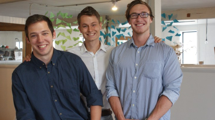 U student founders of startup, Tive: Improving Free Wi-Fi for Businesses and Customers
