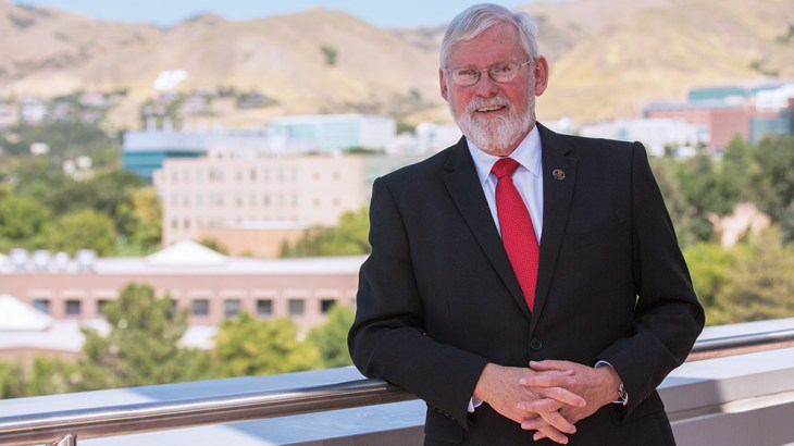 President Pershing defines what it means to be a student at the University of Utah.