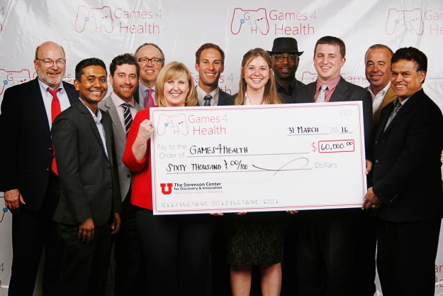 Games4Heath 2016 winners at the University of Utah, David Eccles School of Business