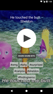 Blerp soundbite sharing app