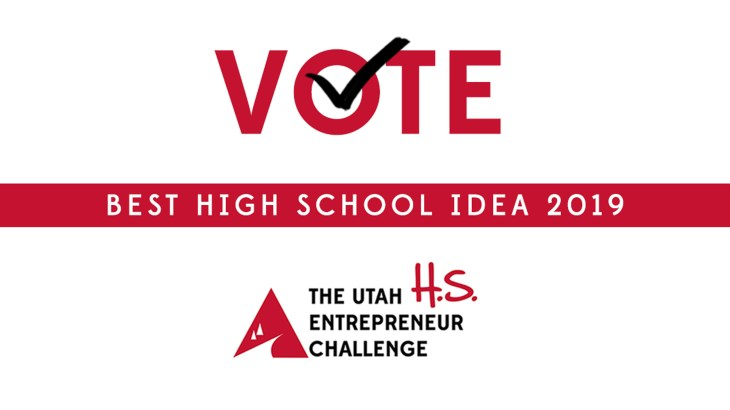 High School Utah Entrepreneur Challenge Vote