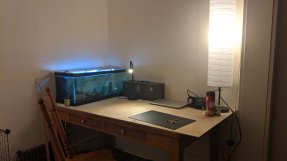 "Cullen Chase: ""Just redid my desk and got it setup for my summer design studio!"""