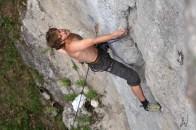 Frankenjura klettern climbing Wüstenstein Schwarze Wand