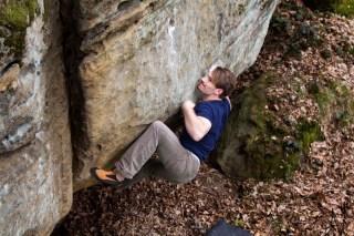 Sandstein Boulder Frankenjura