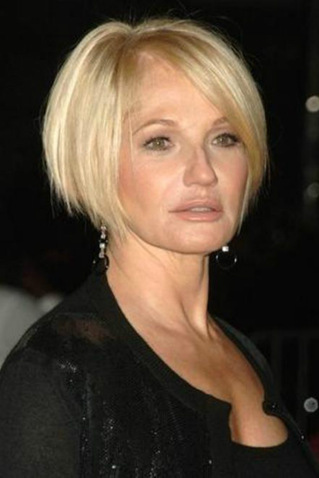 Short Hairstyles For Women Over 60 With Fine Hair Page 1