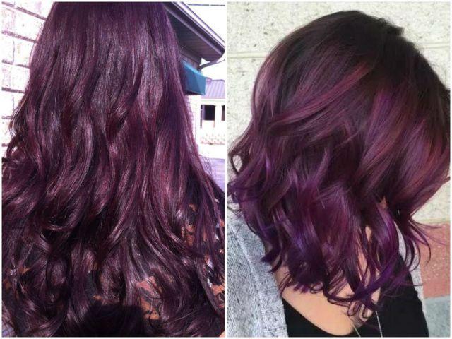 60 burgundy hair color ideas | maroon, deep, purple, plum