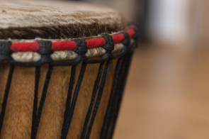 Djembe photographed by David Brant