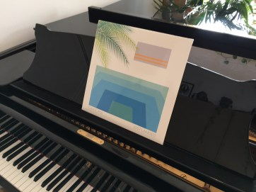 The piano on Sea of Blue from
