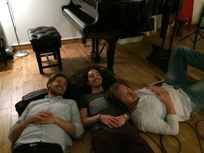Tom Butler with James Flett and Paul Gordon White