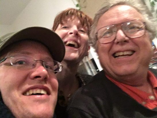 """<a href=""""http://www.eistermusic.com""""target=""""_blank"""">Garry</a>'s selfie with Philipp and Lu!"""