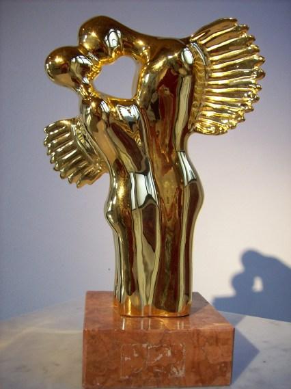 amanti alati oro 24 carati