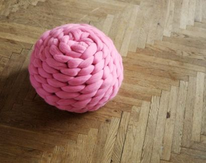 Chunky knit blanket 03