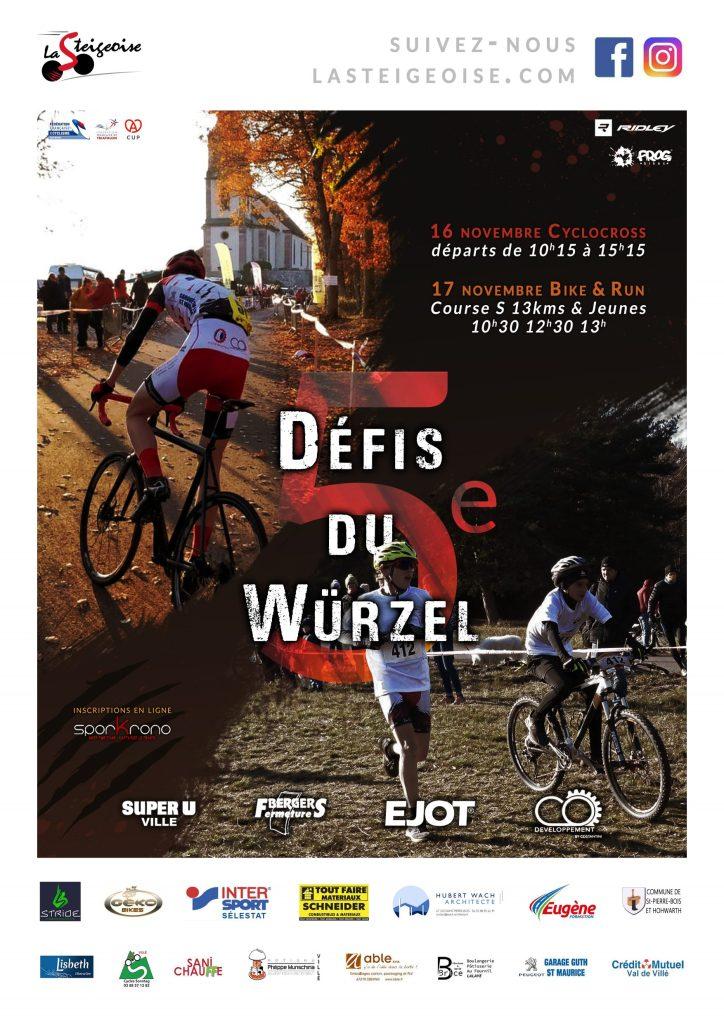 Affiche Défis du Würzel 2019