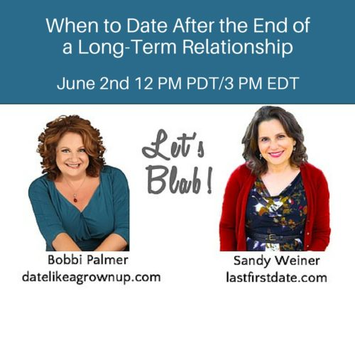 In this video, dating coach, Bobbi Palmer, and I reveal best practices in  dating after a long term relationship ends…