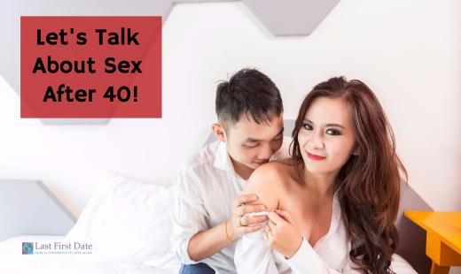 Are you getting back into dating in your 40s, 50s and beyond? In today's  video, I'm talking about sex after 40. Check it out!