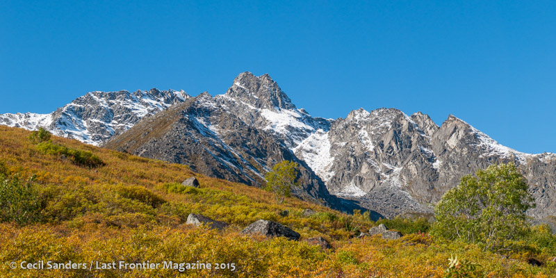 Peaks above Archangel. www.cecilsandersphotography.com