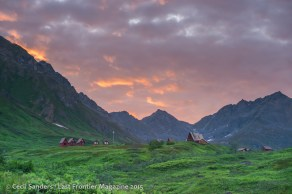Hatcher Pass Lodge in late summer. www.cecilsandersphotography.com