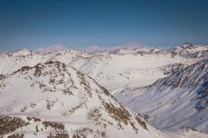 The Alaska Range pictured in the distance.
