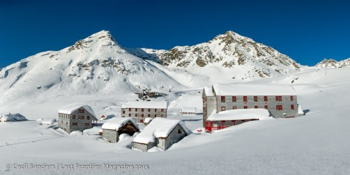 Independence Mine in early spring. www.cecilsandersphotography.com