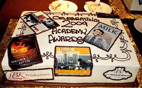 Academy Award's Cake by Hansen Cakes