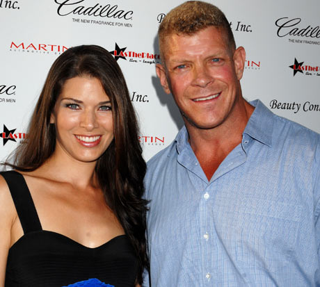 Adriienne Janic with Lee Reherman