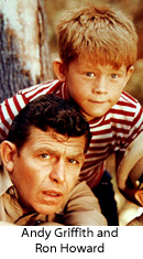 Andy Griffith, Ron Howard from The Andy Griffith Show