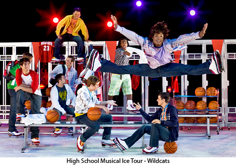 High School Musical Ice tour
