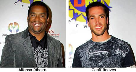 Actor Antonio Ribiera, ex Navy Seal and actor, Geoff Reeves