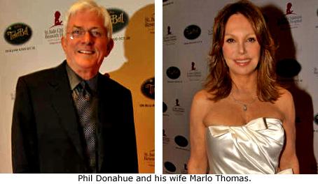 Phil Donahue, Marlo Thomas