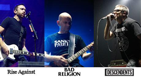 Rise Against, Bad Religion, The Descendants