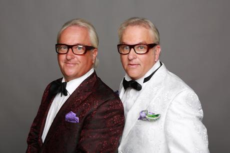 """The Tastemakers"" Mark Harris and Matt Harris."