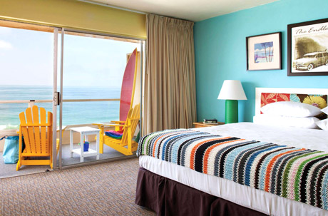 Pacific Edge Hotel -guest room