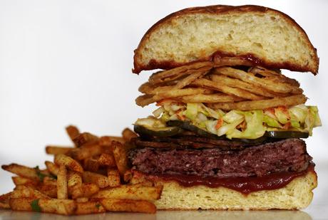 Cast Ultimate Burger. Mmm.