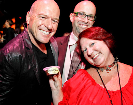 Actor Dean Norris with Sweet Surrender Fudge