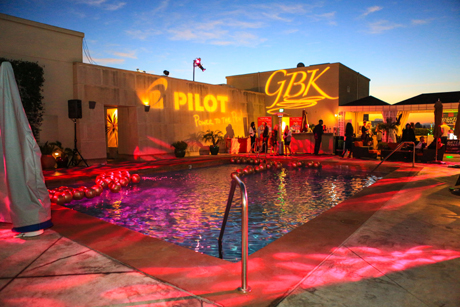 Poolside GBK Gift Lounge for the 2014 Golden Globes