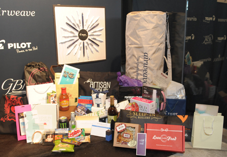 The fabulous Gifts from GBK pre Golde Globes Gifting Lounge