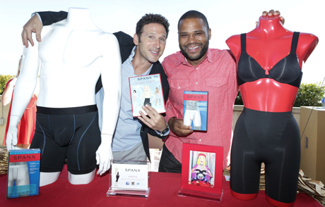 Mark Feuerstein Anthony Anderson with Spanx