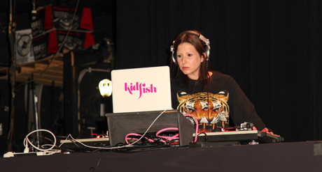 DJ-Kid-Fish-spins-the-hits- Photo: Igor Spektor